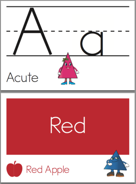 Click here to download our flash cards for learning numbers, letters, colors, shapes, and more.